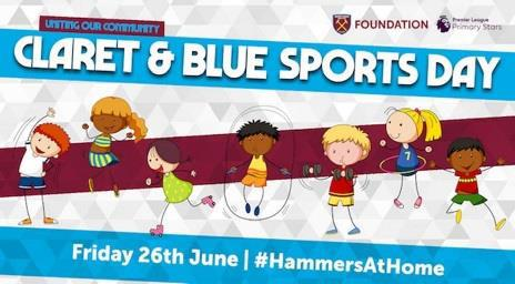 Claret and Blue Sports Day
