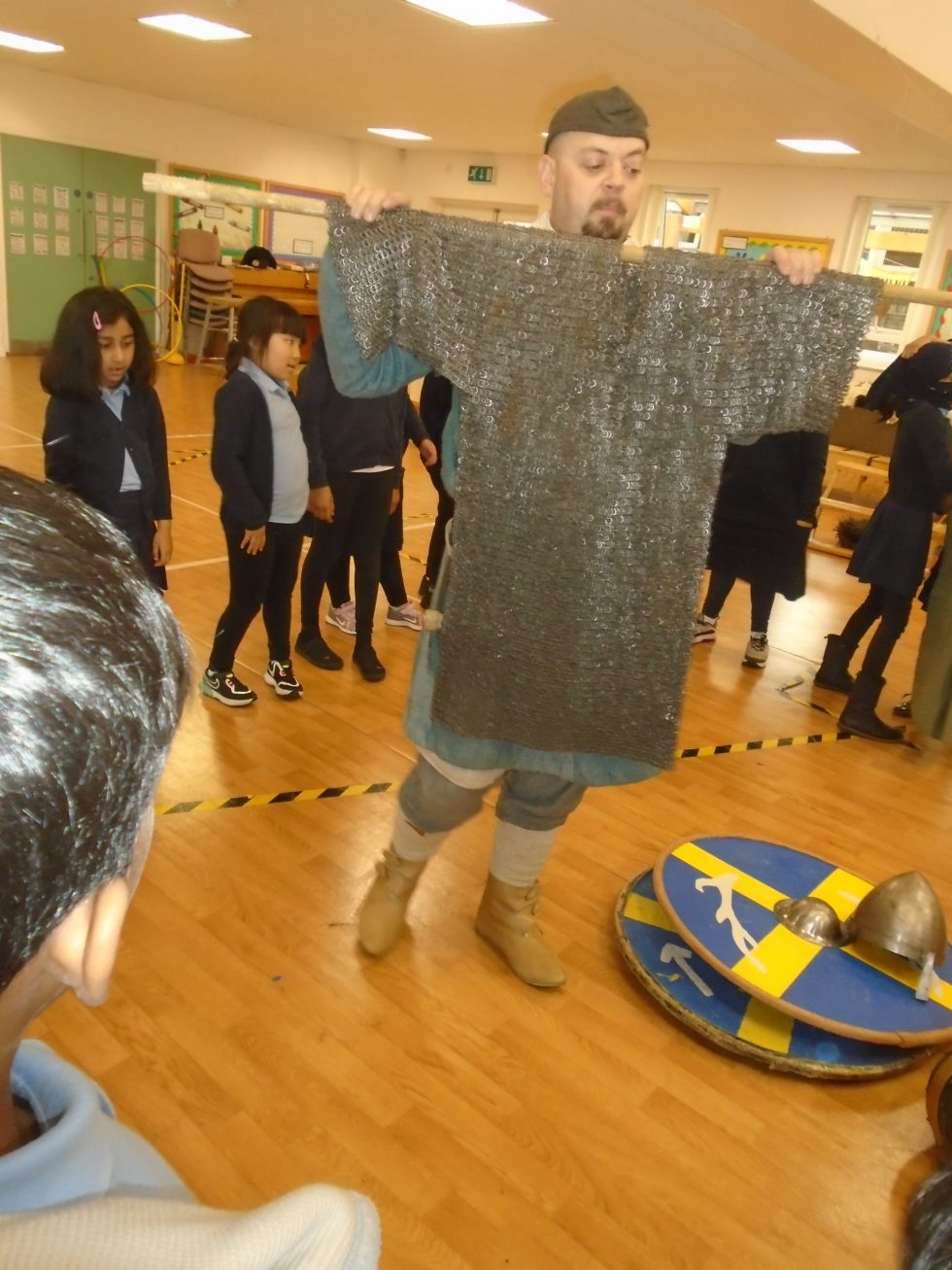 Year 3 Anglo Saxon Workshop